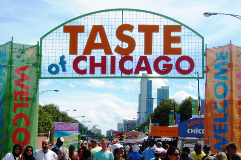 Taste of Chicago is produced annually by the Department of Cultural Affairs and Special Events in conjunction with the Illinois Restaurant Association.