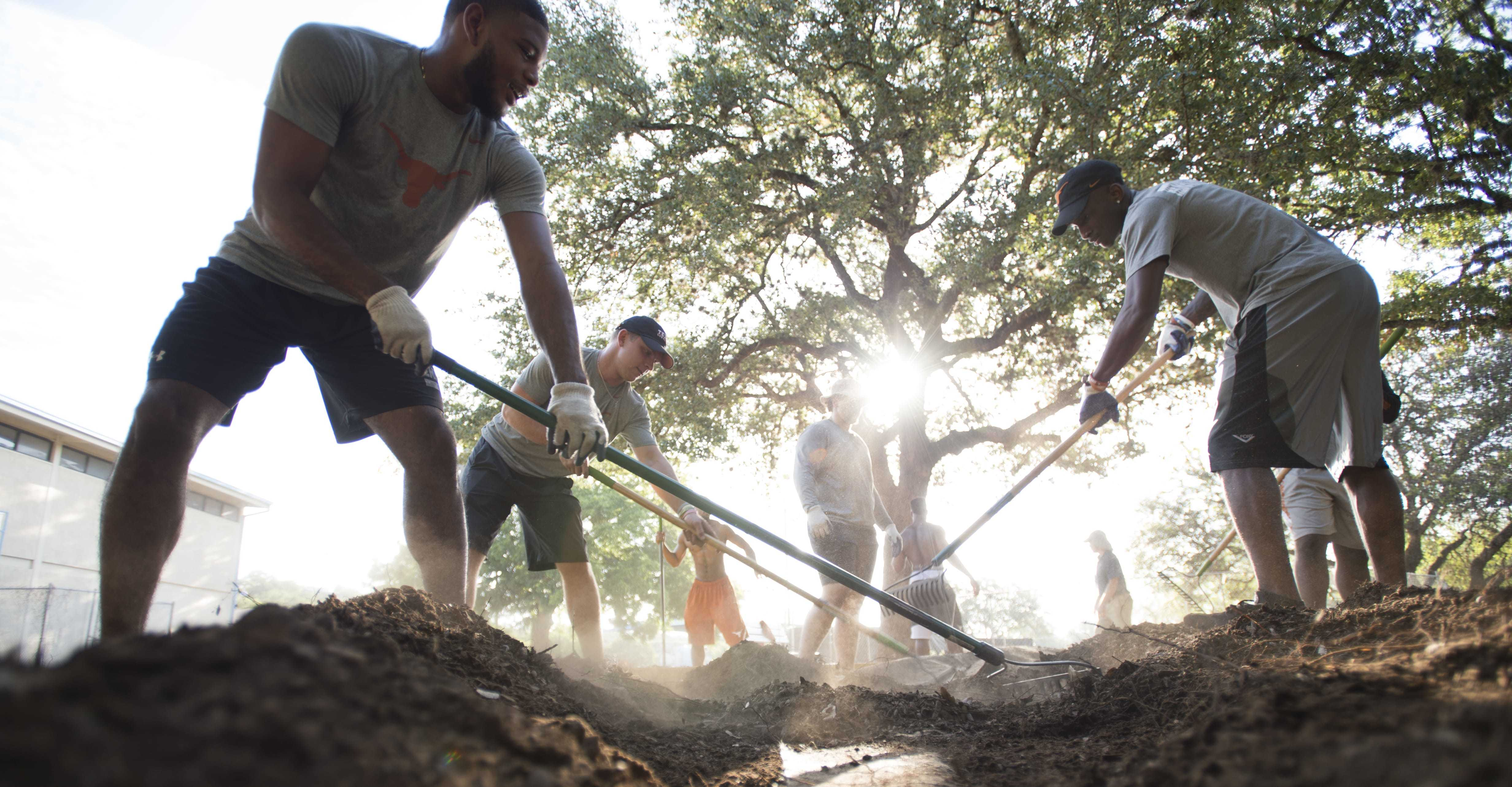 APF financially supports park projects across Austin thanks to generous gifts including support from the Cap10K