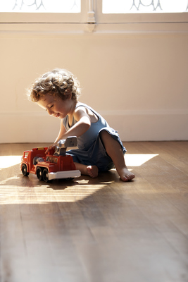 Kids can be tough on hardwood floors, so it's important to pick the right wood for your family's needs.