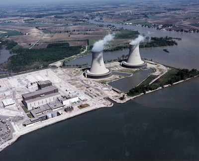 Fermi Nuclear Power Plant in Newport, Michigan.