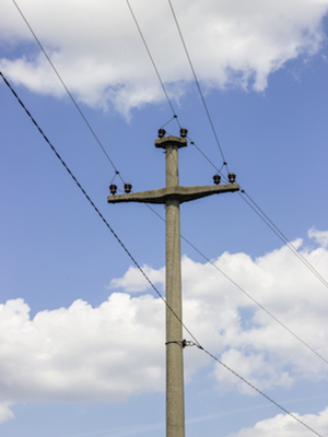 Large electric power line