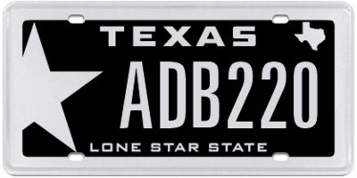Texas residents can personalize their license plates at myplates.com.
