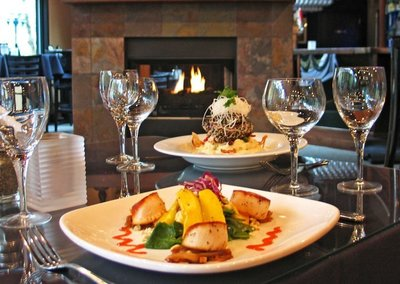 Gourmet food is served at Riverview Restaurant in a beautiful location off of the Sandy River