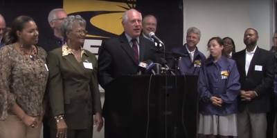 Former Illinois Gov. Pat Quinn was endorsed by SEIU in 2009.