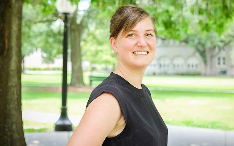 Maggie Hansen was named permanent head of Tulanel's community design hub, Small City Center.