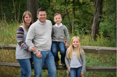 Illinois House candidate Dan Yost (R-Antioch) and family