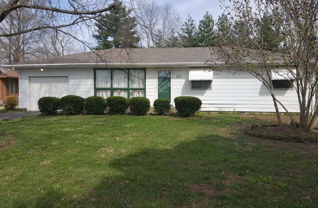 227 S. Giant City Road, Carbondale, is for sale at $89,900; A report found Jackson County had the highest percentage of homeowners deemed