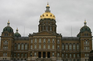 The Iowa Biodiesel Board went to the State Capitol in Des Moines Feb. 17.