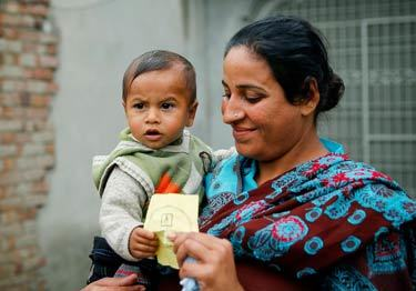 Partnership for measles immunization for children in Pakistan