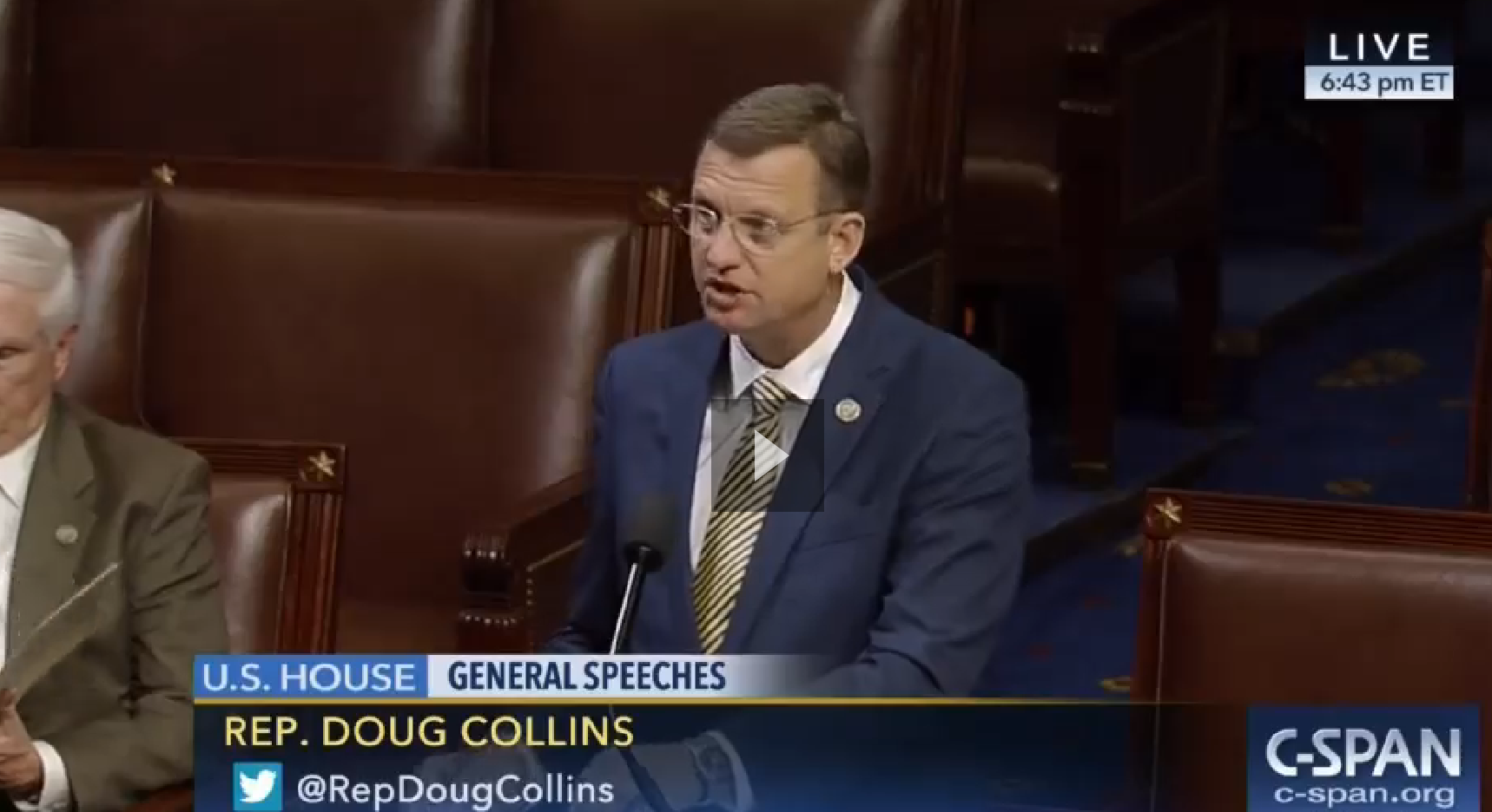 Rep. Doug Collins House floor speech, March 1, 2017