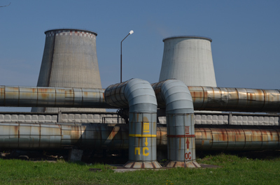 A nuclear power plant in Kiev, Ukraine.