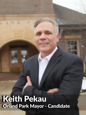 Orland Park businessman and mayoral candidate Keith Pekau