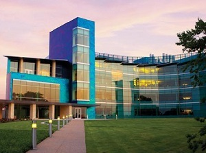 The new Bioengineering and Sciences Building is the largest academic building on the campus at 220,000 square feet.