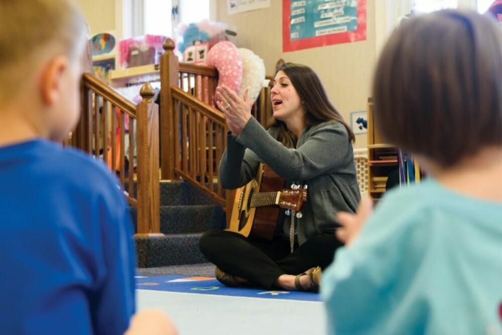 Dawn Sandel, music therapist