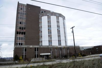 The former Monsour Medical Center is scheduled to be demolished.