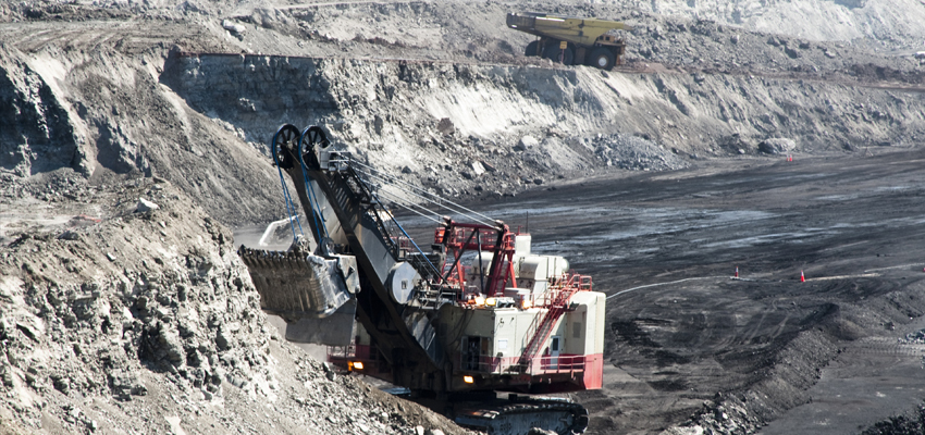 Mining operations in the Powder River Basin.