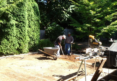 Leveling out a lawn can be a painstakingly long process.
