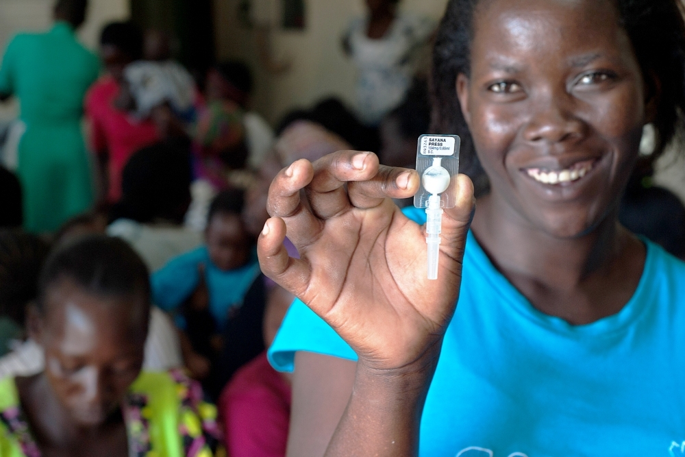 The all-in-one injection was distributed to 20 developing nations by the end of 2016.