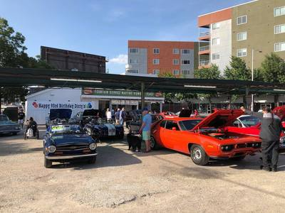 Dirty Martins Place has been hosting infomral car shows since Spring of 2016.