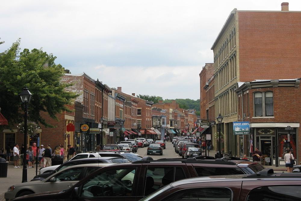 Downtown Galena, a city where residents are projected to pay an additional $1,962,683 in taxes this year.