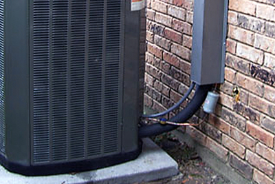 If ice builds up on the lines leading to an outdoor AC unit, turn the system off immediately and get help.