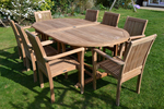 eak is one of the most popular woods for creating outdoor furniture.