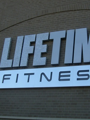 Large life time fitness logo