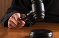 Large gavel judge