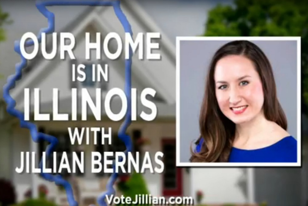 Jillian Rose Bernas, Republican candidate for the 56th state House District