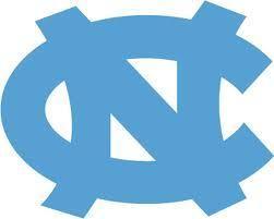 Large university of north carolina logo