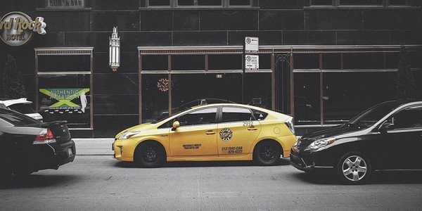 Large chicago taxi