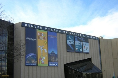The Denver Museum of Nature & Science houses an IMAX theater.