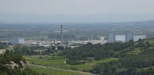 The Marcoule Nuclear Center in in France.