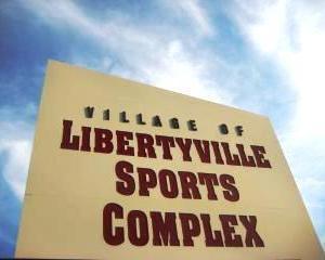 Medium libertyville sports complex sign