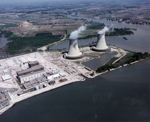 The Fermi Nuclear Generating Station in Newport, Michigan.