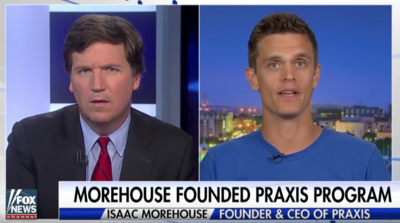 Lowcountry resident Isaac Morehouse recently appeared on Fox News Channel's