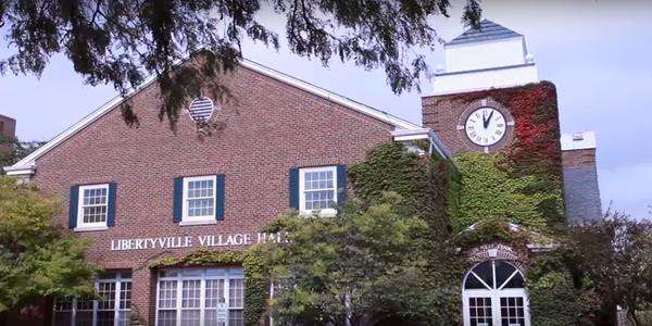 Large libertyville village hall