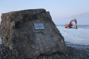 Digging operations for the foundation pit at the Hanhikivi nuclear plant have begun.
