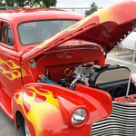 El Amistad hosts a car show each year during their Fiesta Amistad.