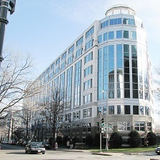 The U.S. International Trade Commission building in Washington, D.C.