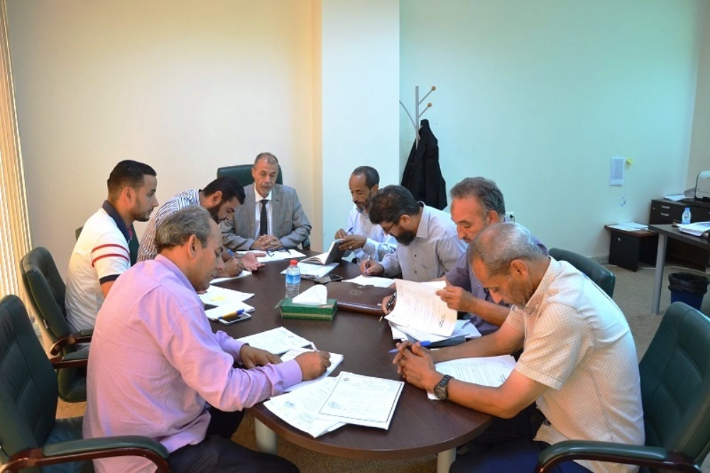 From NOC, manager Adel Ahmed Tawil represented the manufacturing department; and Salaheddin Dou Ali attended from the public accounts department.