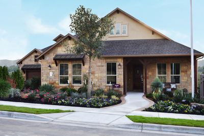 The M/I model home in Sweetwater, the Travis.
