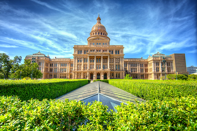 Only 2 miles from Central Austin, the Texas Capitol provides visitors with free tours and information about the local government.