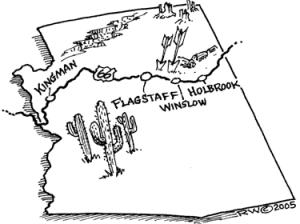 U.S. Rep. Paul Gosar (R-AZ) introduced bipartisan federal legislation recently to preserve historic western U.S roads.