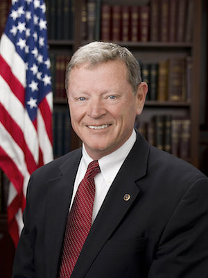 Sen. Jim Inhofe (R-OK), Chairman of the Senate Committee on Environment and Public Works (EPW)