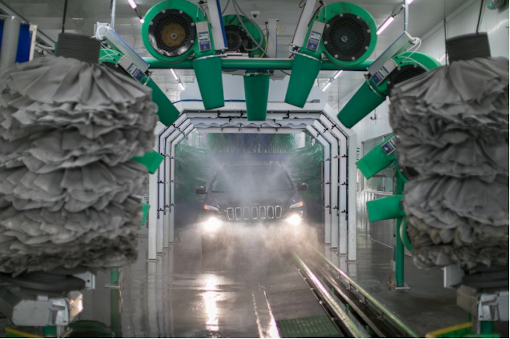 Motorcars Honda's Haunted Car Wash promotion in October 2019