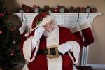 Santa Claus is coming to Zilker Botanical Garden.