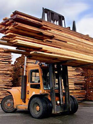 Large lumber