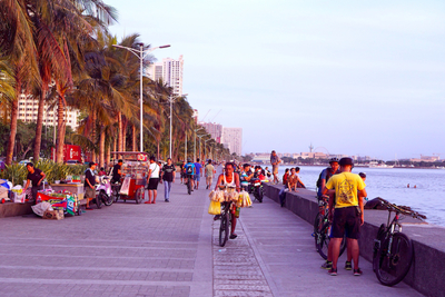 Manila Bay in the Republic of The Philippines