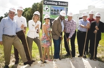 Gilbane Building Company breaks ground on Sarasota mixed-use project.